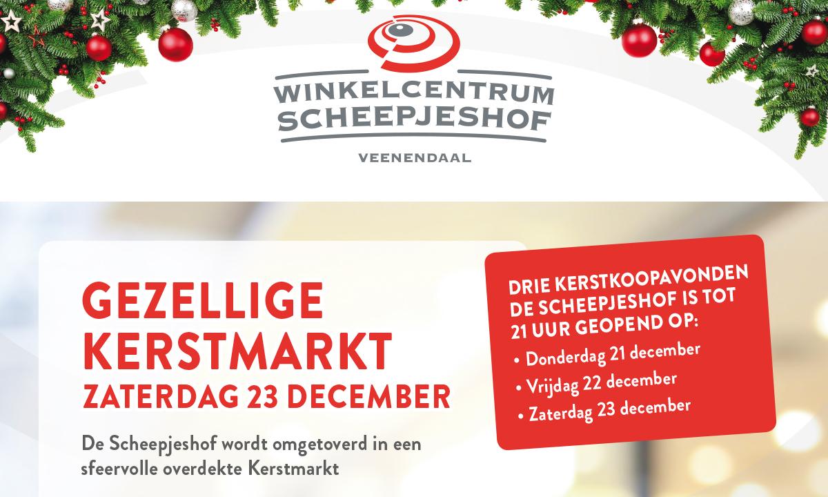 23 December Gezellige Kerstmarkt De Scheepjeshof De Scheepjeshof